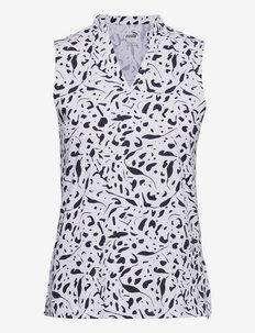 W Cloudspun Chelsea SL Polo - blouses zonder mouwen - navy blazer