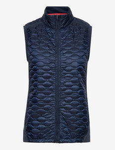W Cloudspun WRMLBL Vest - gevoerde vesten - navy blazer