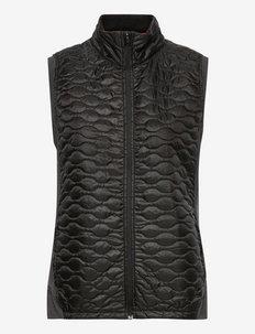 W Cloudspun WRMLBL Vest - gevoerde vesten - puma black