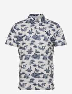 Cloudspun Mowers Polo - polos - high rise-navy blazer