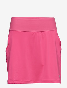 PWRSHAPE Solid Knit Skirt - FUCHSIA PURPLE