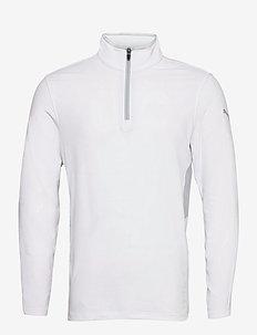 Rotation 1/4 Zip - Överdelar - bright white
