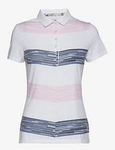 W Race Day Polo - PALE PINK