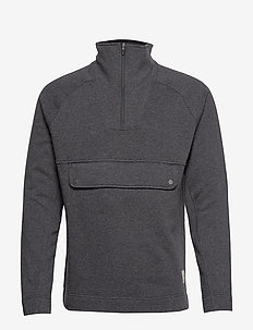 Fusion 1/4 Zip - PUMA BLACK HEATHER