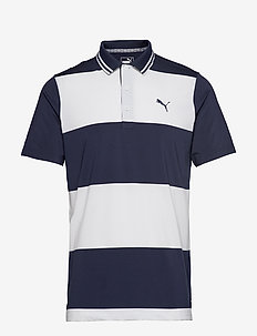 Rugby Polo - PEACOAT-BRIGHT WHITE