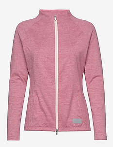 Cloudspun W Warm Up Jacket - svetarit - rapture rose heather