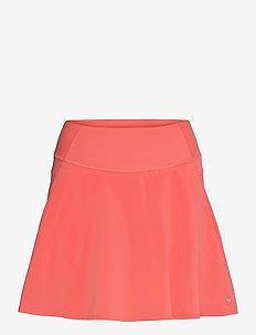 PWRSHAPE Solid Woven Skirt - rokjes - georgia peach