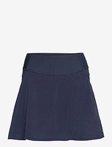PWRSHAPE Solid Woven Skirt - sports skirts - navy blazer