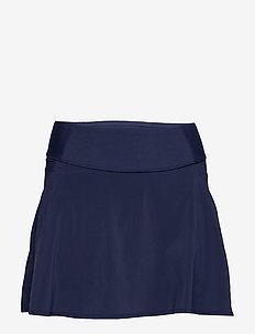PWRSHAPE Solid Woven Skirt - træningsnederdele - peacoat