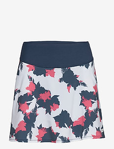 PWRSHAPE Floral Skirt - DARK DENIM
