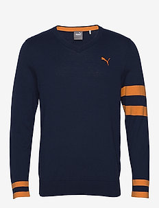X Sweater - tricots basiques - peacoat