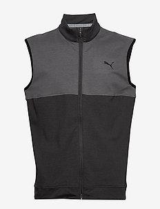 Cloudspun Warm Up Vest - golf jassen - puma black-quiet shade