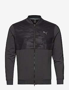 Cloudspun Camo Jacket - golf-jacken - puma black