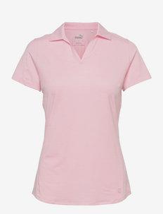 Cloudspun Free Polo - polo's - parfait pink heather
