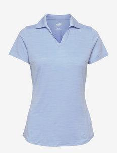 Cloudspun Free Polo - polo's - placid blue heather