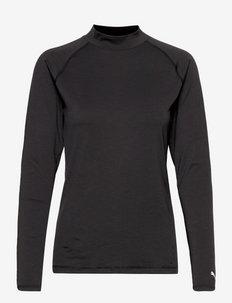 W Baselayer - thermo ondershirts - puma black