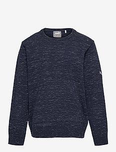 Boys Crewneck Sweater - yläosat - peacoat heather