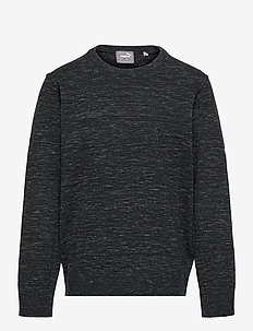 Boys Crewneck Sweater - yläosat - puma black heather