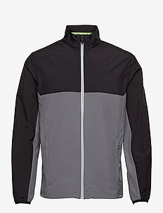 First Mile Wind Jacket - golfjakker - puma black-quiet shade
