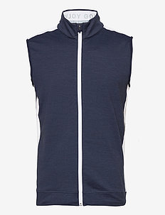 Cloudspun T7 Vest - golf jassen - navy blazer heather-bright white