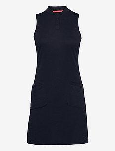 Farley Dress - t-shirtkjoler - navy blazer