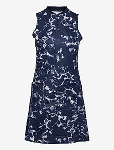 Motley Dress - t-shirtkjoler - navy blazer-marble