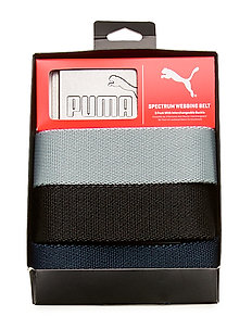 6 Pack Web Belt - paski klasyczne - puma black-bright white