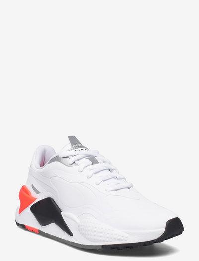 RS-G - golfskor - puma white-puma black-red blast