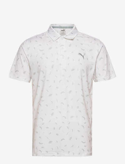 Cloudspun Feathers Polo - pikeer - bright white-high rise