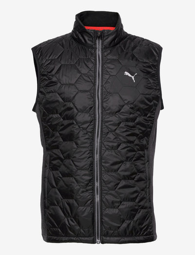 Cloudspun WRMLBL Vest - golfjackor - puma black