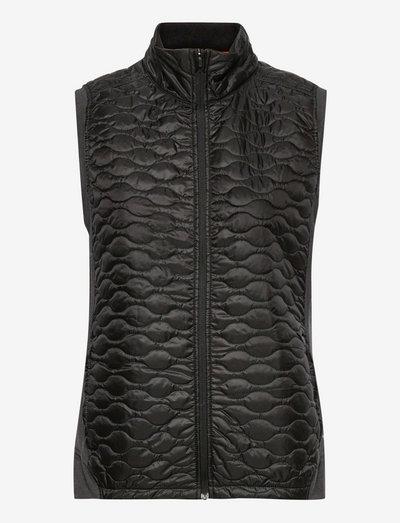 W Cloudspun WRMLBL Vest - vadderade västar - puma black