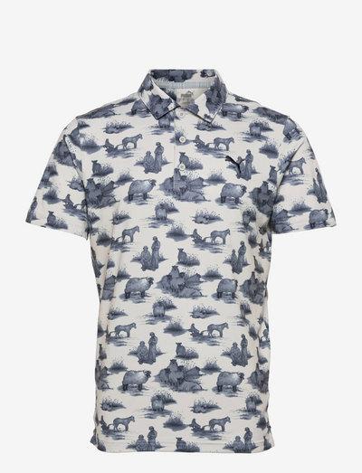 Cloudspun Mowers Polo - pikeer - high rise-navy blazer