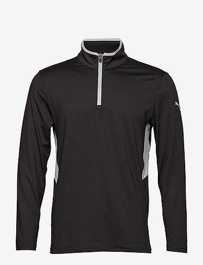 Rotation 1/4 Zip - golfjackor - puma black