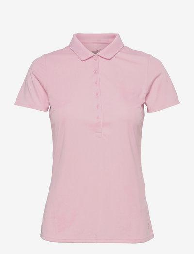 W Rotation Polo - polo's - parfait pink