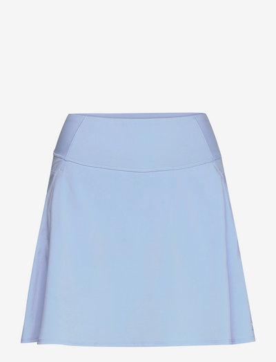 PWRSHAPE Solid Woven Skirt - rokjes - placid blue