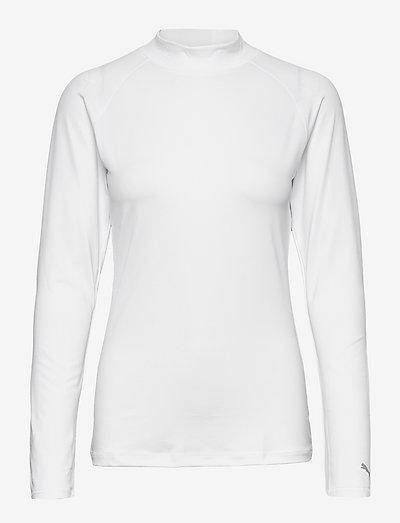 W Baselayer - thermo ondershirts - bright white