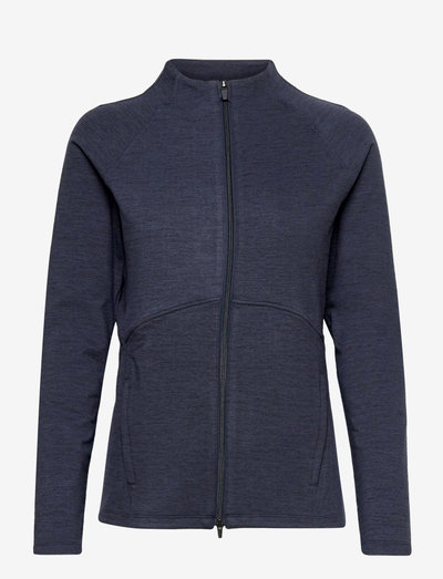 W Cloudspun Full Zip - golfjackor - navy blazer heather