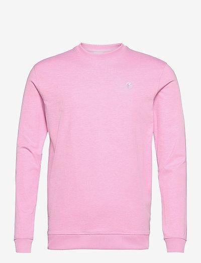 AP Cloudspun Crewneck - Överdelar - pale pink heather