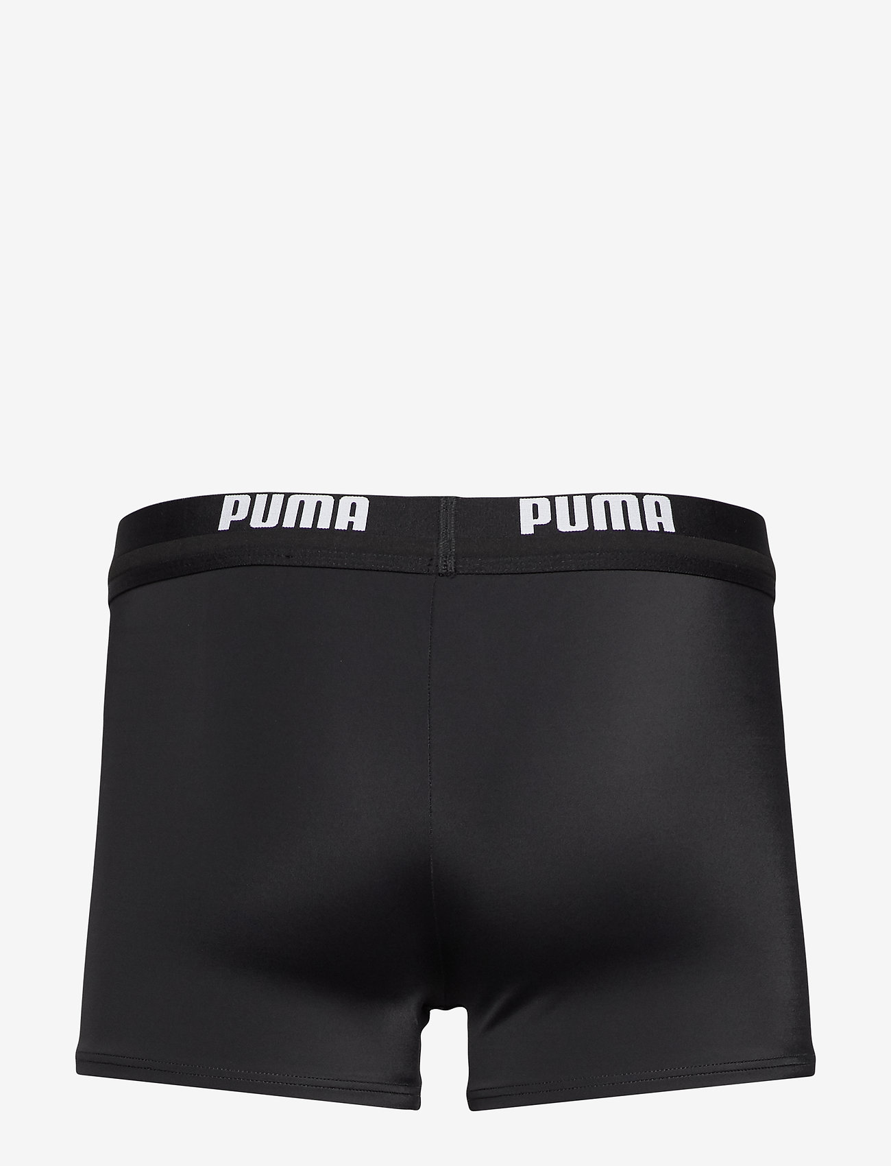 Puma Swim - PUMA SWIM MEN LOGO SWIM TRUNK 1P - shorts - black - 1