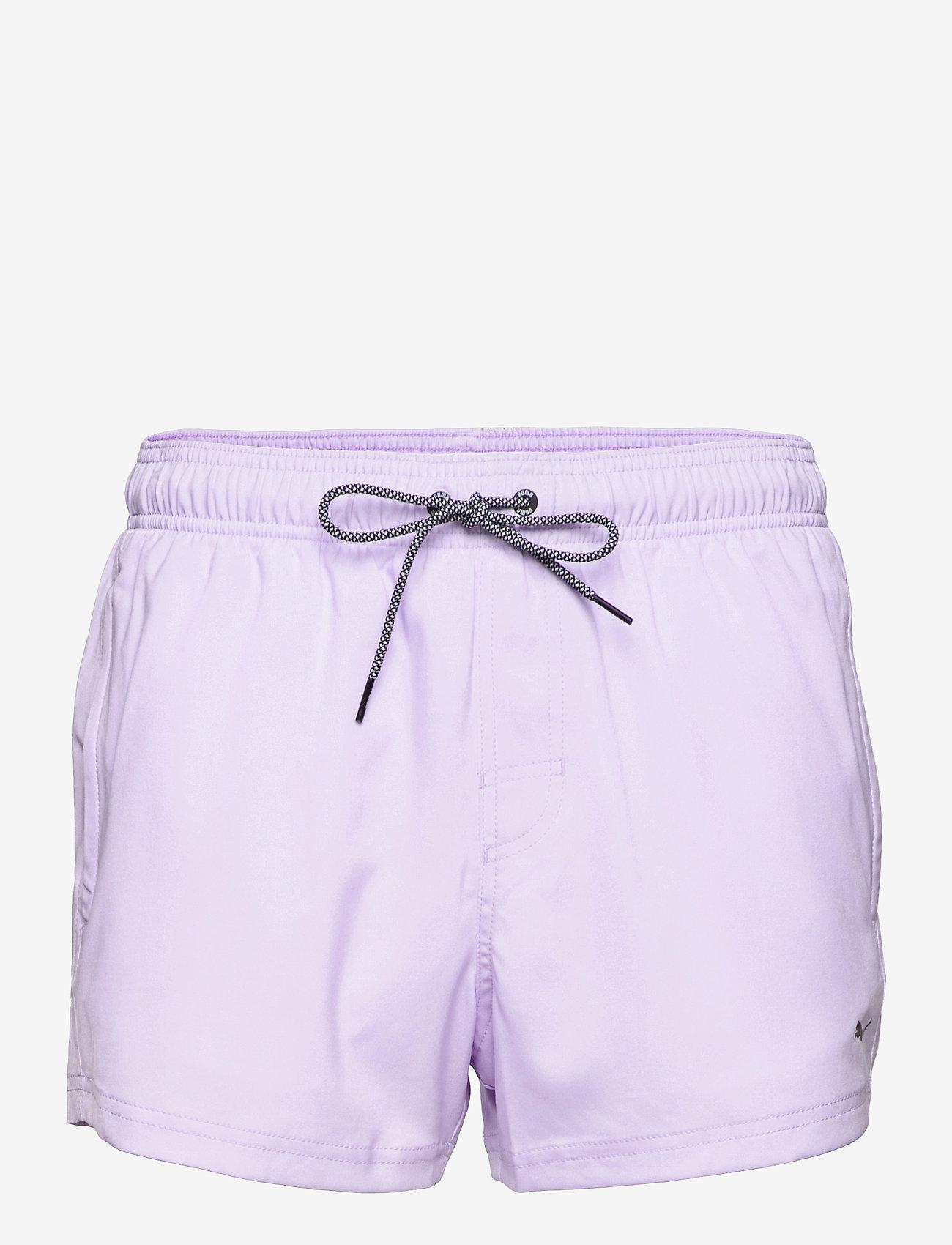 Puma Swim - PUMA SWIM MEN SHORT LENGTH SWIM SHO - badbyxor - purple - 0