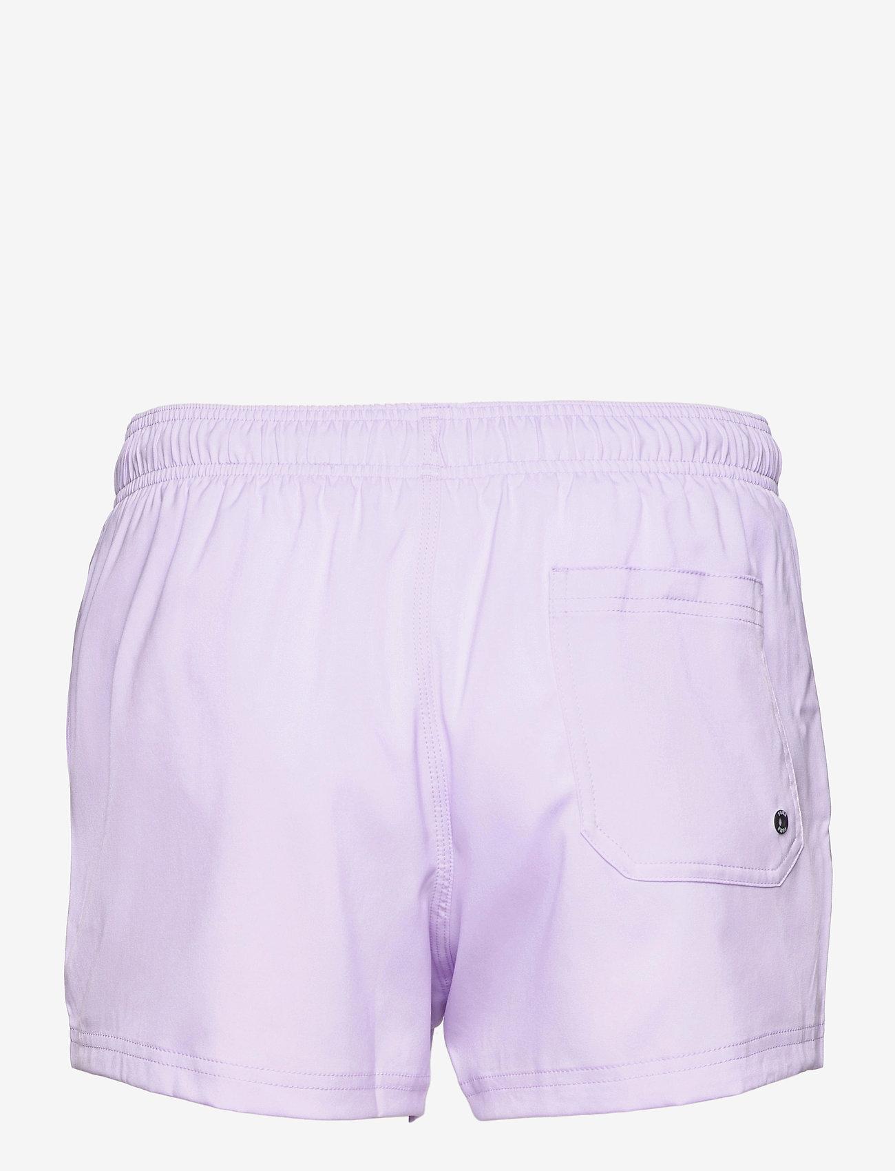 Puma Swim - PUMA SWIM MEN SHORT LENGTH SWIM SHO - badbyxor - purple - 1