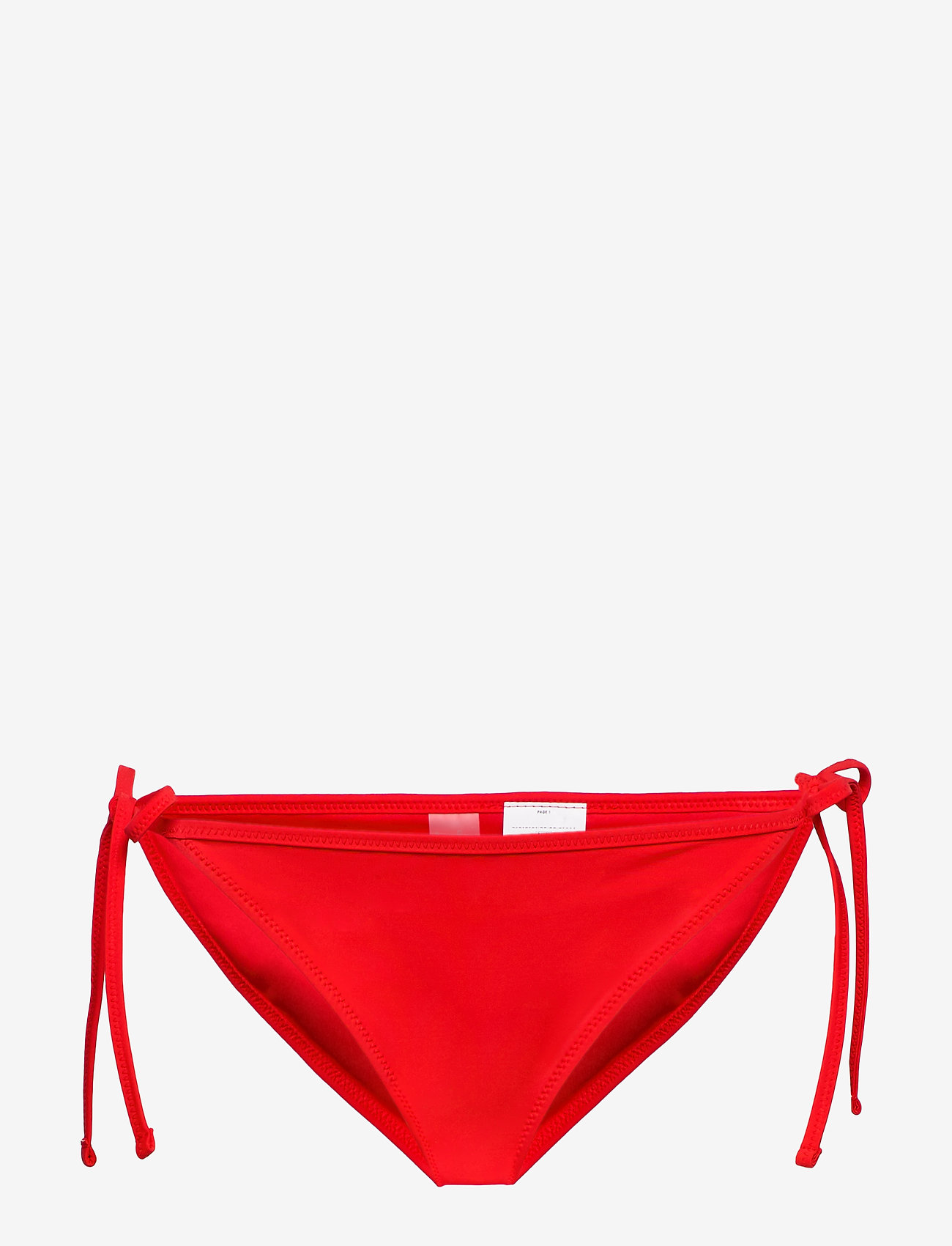 Puma Swim - PUMA SWIM WOMEN SIDE TIE BIKINI BOT - bikiniunderdeler - red - 0