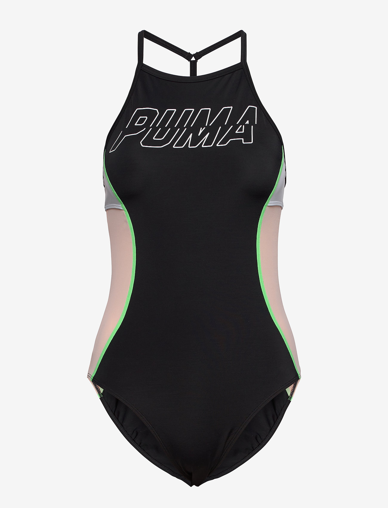 Puma Swim Puma Swim Women Racerback Swimsuit - Swimsuits   Boozt.com