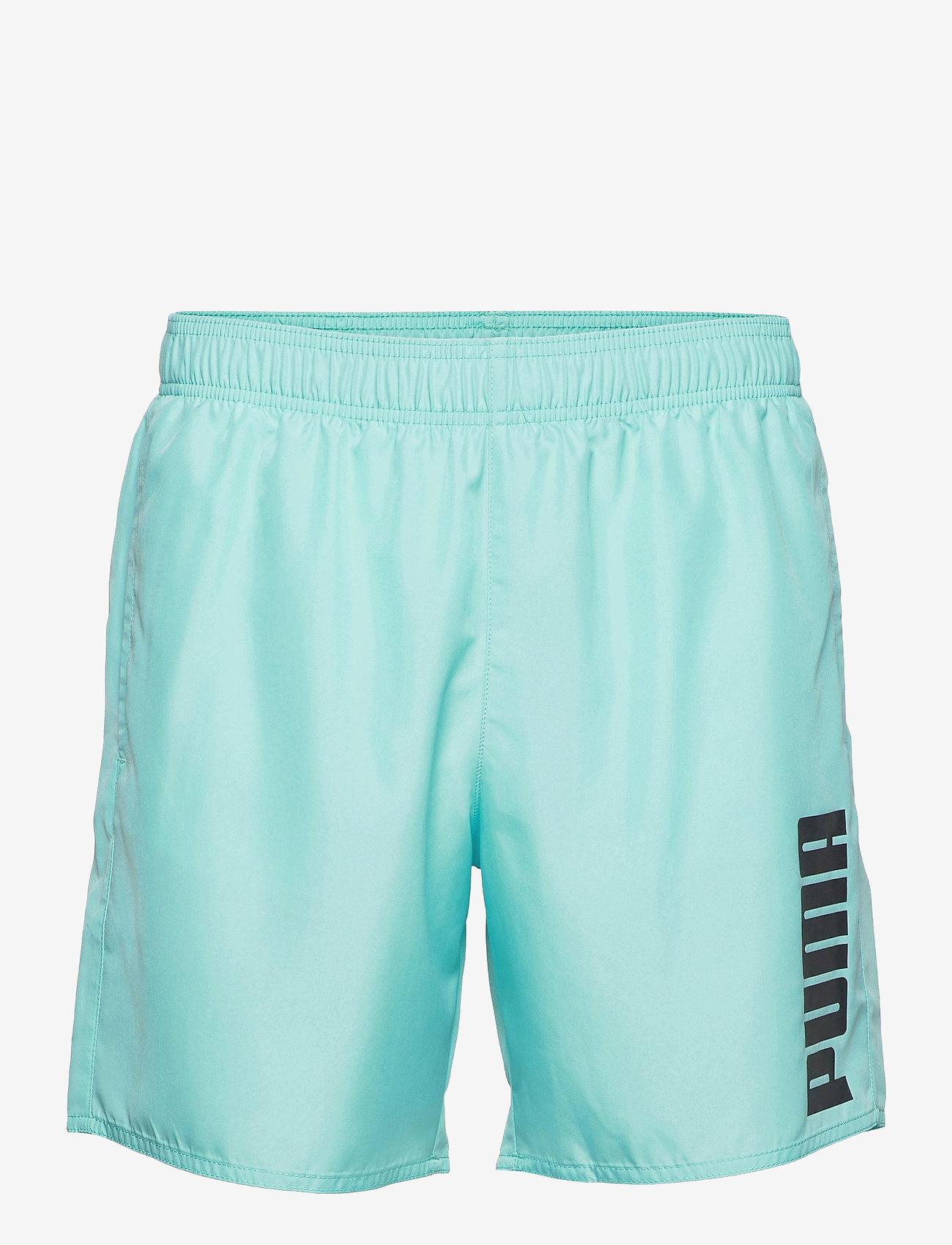 Puma Swim - PUMA SWIM MEN MID SHORTS 1P - badbyxor - angel blue - 0