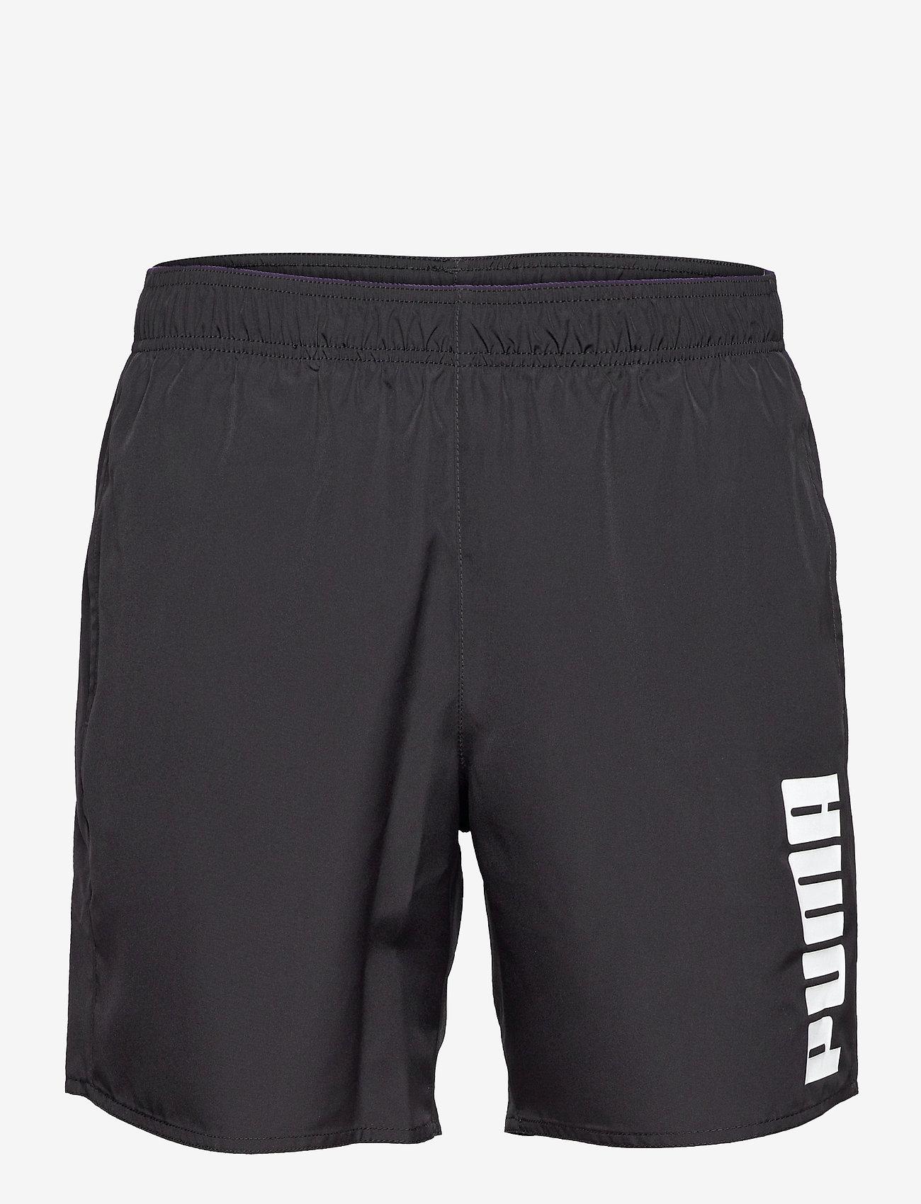 Puma Swim - PUMA SWIM MEN MID SHORTS 1P - badbyxor - black - 0