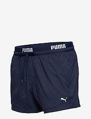 Puma Swim - PUMA SWIM MEN LOGO SHORT LENGTH SWI - shorts - navy - 2