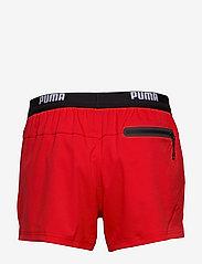 Puma Swim - PUMA SWIM MEN LOGO SHORT LENGTH SWI - shorts - red - 1