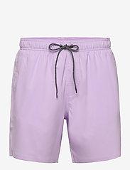 Puma Swim - PUMA SWIM MEN MEDIUM LENGTH SWIM SH - shorts - purple - 0