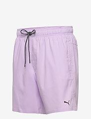 Puma Swim - PUMA SWIM MEN MEDIUM LENGTH SWIM SH - shorts - purple - 2