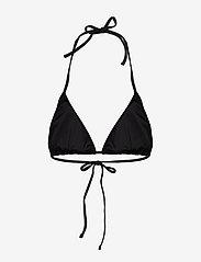 Puma Swim - PUMA SWIM WOMEN TRIANGLE BIKINI TOP - bikinitopper - black - 1
